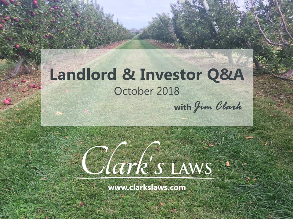 Clarks Laws Q&A Graphic