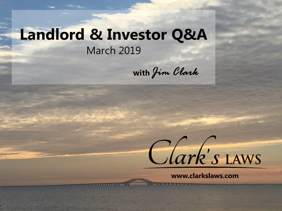 clarks laws faq march 2019